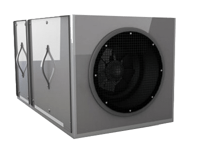 commercial air purifer installation
